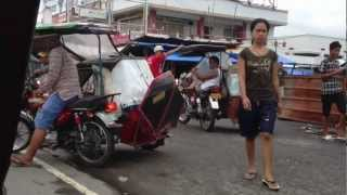 Iba Philippines  City new picture : Tricycle Ride In Iba Zambales