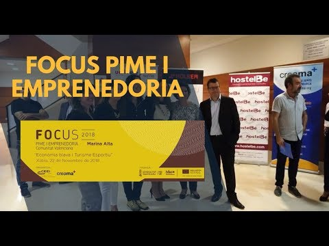 Video promocional Focus Pime i Emprenedoria Marina Alta 2018[;;;][;;;]