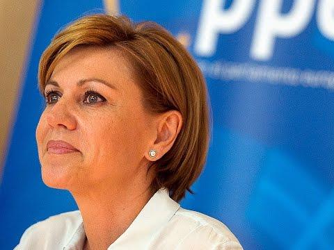 """Cospedal: """"La política se está convirtiendo en un espectáculo mediático en Europa"""""""