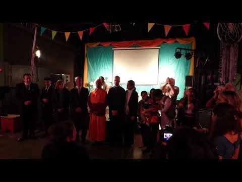 Pachamama Fest 14/9/2018 - Cierre con sonar de caracolas (видео)
