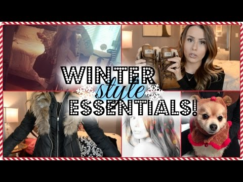 TOP WINTER FASHION ESSENTIALS! (видео)