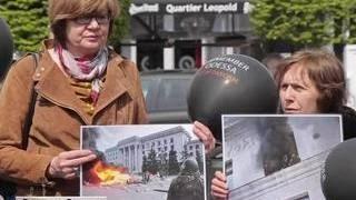 Жертв одесской трагедии вспомнили по всей Европе
