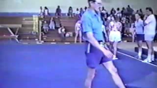 Home video of BLR and UKR female gymnasts' training. Yurkina sisters, Podkopayeva, Lysenko, Piskun, Vitiukova, Stovbchataya, Shakhoval.