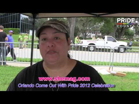 She Magazine Supports Come Out with Pride Orlando 2012