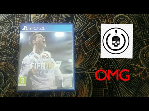 Unboxing FIFA 18 PS4 //From AMAZON