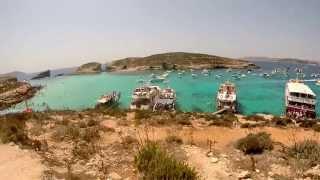 blue lagoon gozo malta august 2014 ramla bay resort,  Blue Waves Water Sport