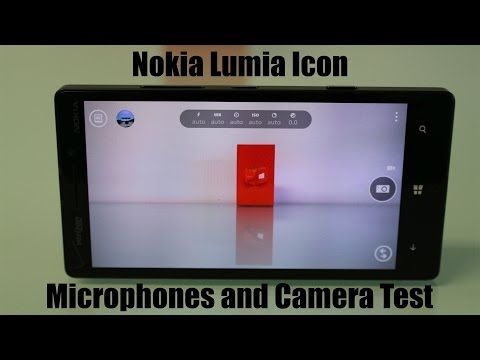 Nokia Lumia Icon Microphone and Camera Test