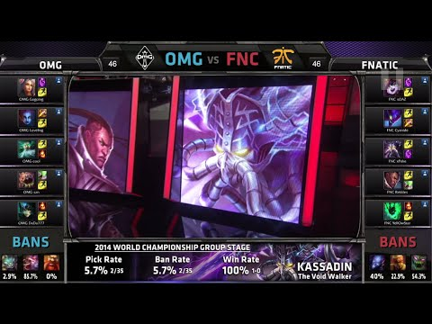 Lol - D2G4 OMG vs Fnatic LOL S4 Worlds G1 first match | FNC vs OMG Round 1 Game 1 | Fnatic vs OMG G1 Group C #worlds Next match of the day - Alliance vs KaBuM Game 1 VOD: https://www.youtube.com/watch?v=...