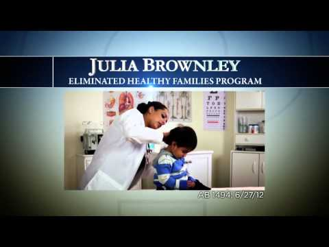 0 Tony Strickland Calls Julia Brownley a LA Liberal in New Television Ad