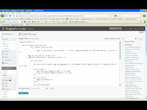 How to Edit a PHP file in WordPress | Earn Money Blogging For Coaches