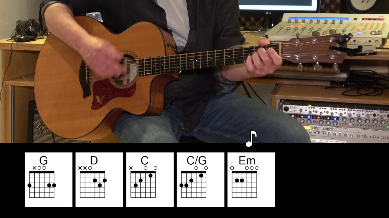 Rockin' in the Free World – Acoustic Guitar – Neil Young