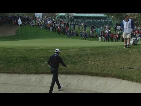 Woods - In the opening round of the 2013 Northwestern Mutual World Challenge, Tiger Woods hit his 3rd shot from the green side bunker on the par-4 9th hole to within...