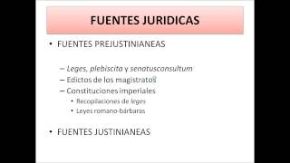 Umh1191 2013-14 Lec001 Fuentes Del Derecho Romano (I)