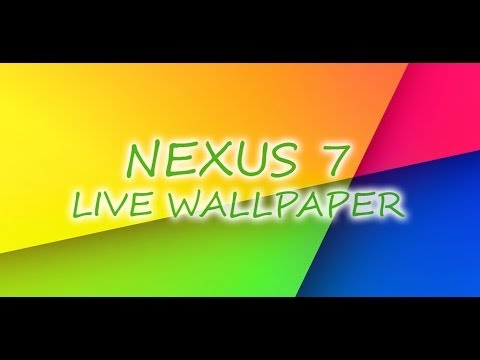 Video of Nexus 7 Live Wallpaper