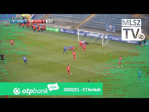 27. forduló: ZTE - DVTK 2-0 (1-0)