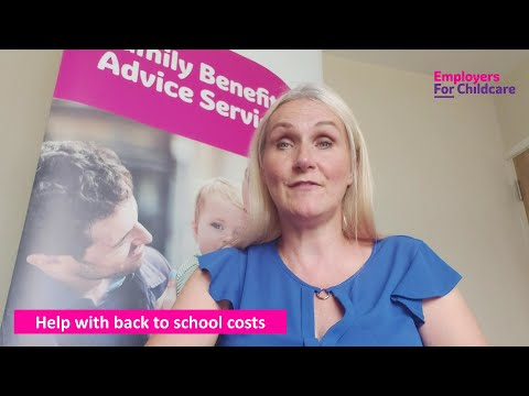 Financial help with back to school costs
