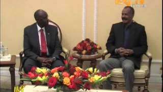 Eritrean News   PIA Meeting With Ministers From Uganda   Sudan And South Sudan By Eri TV