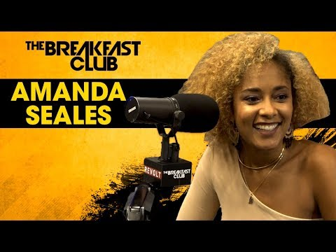 Amanda Seales Dishes On Floetry, Getting Fired Because Jay-Z, Her Hollywood Come-up & More W/The Breakfast Club