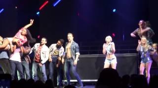 Timber - Derek & Julianne Hough (MOVE Live Tour) [PHX AZ 07/20/14]