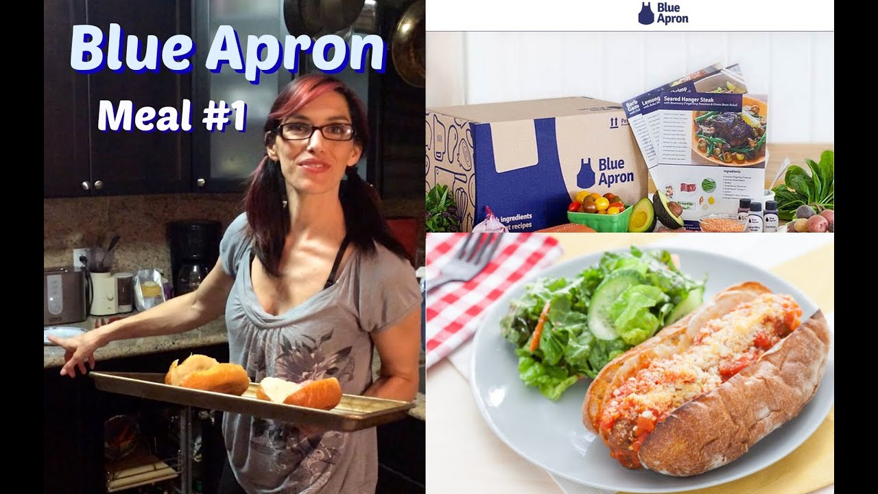 Blue apron top chef contest - Blue Apron Review Meal 1 Meatball Subs