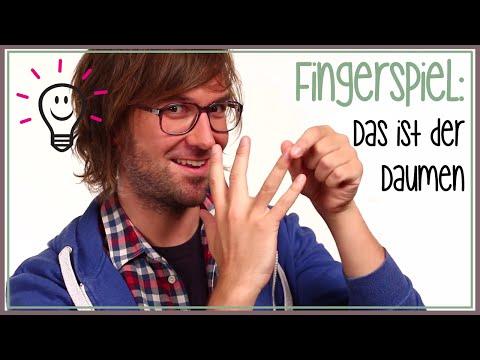 Fingerspiele: Das ist der Daumen (Kinderreim) | mit herrH