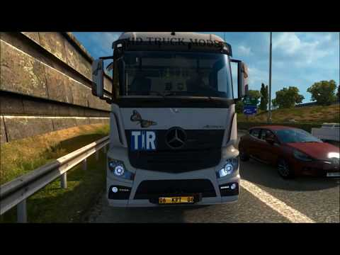 Mercedes Actros MP4 1.28.x