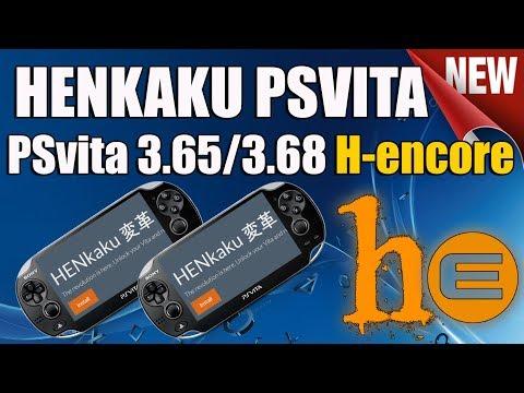 HENKAKU PSVITA 3.65 y 3.68 H-Encore - 1 Julio 2018