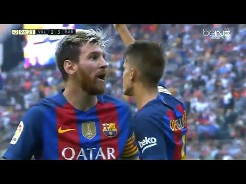 Valencia vs Barcelona 2-3 All Goals & Highlights 22.10.2016 | Resumen y goles