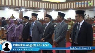Pelantikan Anggota KKR Aceh