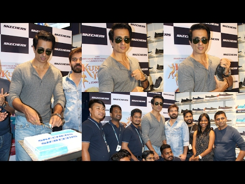 Sonu Sood Launch Skechers Goflex Walk Range