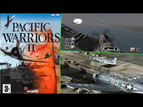 A fresh new direction.. Pacific Warriors II: Dogfight Gameplay PS2