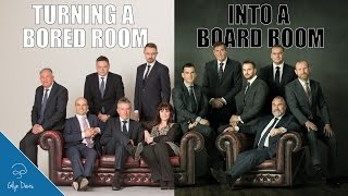 PHOTOSHOP: Turning a Bored Room into a Board Room #94