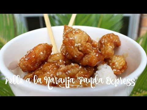 Pollo a la Naranja estilo Panda Express|Orange Chicken|MARILYN MILES