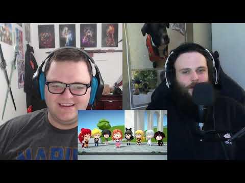 RWBY Reaction: RWBY Chibi Season 1: Episodes 5, 6, 7 & 8