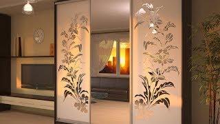 дизайн дверей шкафа-купе