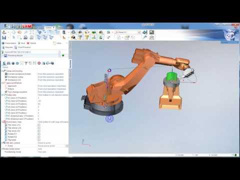 Offline robot programming workflow