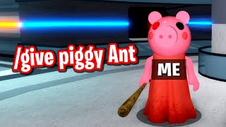 GIVING MYSELF PIGGY EVERY SINGLE ROUND WITH ADMIN COMMANDS