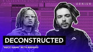 "Video The Making Of Lil Pump's ""Gucci Gang"" With Bighead 