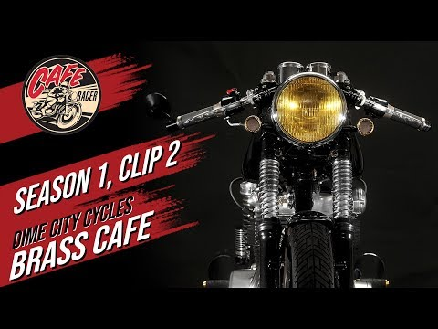 Velocity's Cafe Racer TV Season 1, Clip 2 of Dime City Cycles and The Brass Cafe