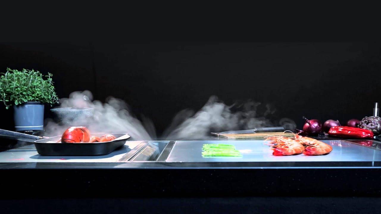 Teppanyaki Grill Kochtische Kochplatten und Gastro Küchensysteme