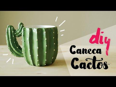 Caneca Cactos