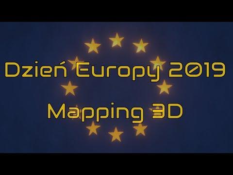 Dzień Europy - Podróż po zakątkach Europy (3DMapping)