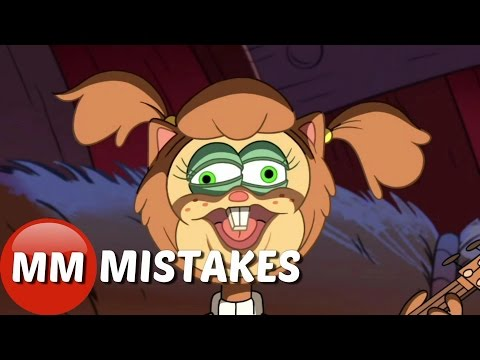 Gravity Falls Soos and The Real Girl Cartoon Movie |  Gravity Falls Goofs