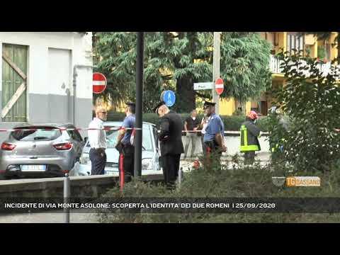 INCIDENTE DI VIA MONTE ASOLONE: SCOPERTA L'IDENTITA' DEI DUE ROMENI    25/09/2020