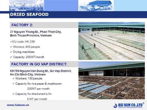 Sản phẩm của Hải Nam Co., Ltd