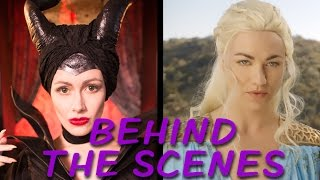Behind the scenes of Maleficent vs. Daenerys: Princess Rap Battle! Subscribe: http://tiny.cc/WAsubWatch the Maleficent vs. Daenerys battle: https://youtu.be/y5k5e9RW8OgIllinest Villainess t-shirts! http://tiny.cc/illinest** BEHIND THE SCENES VIDEO CREDITS **Cinematographer for Interviews: Mike ManasewitschEditor: Steve GossettMake-up Artist: Amy WienerStill Photographer / On-Set Behind the Scenes Camera: Candace Ostler, T.C. De Witt, Jim SaboComposer: Ryan ElderInterview Location: YouTube Space LA** MALEFICENT VS. DAENERYS: PRINCESS RAP BATTLE CREDITS **Writer / Exec. Producer / Director / Maleficent: Whitney Avalon http://whitneyavalon.com http://twitter.com/whitneyavalon  Writer / Producer / Director / Editor: Steve Gossett http://stevegossett.com  http://facebook.com/thestevegossett  http://twitter.com/thestevegossettDaenerys: Yvonne Strahovskihttps://twitter.com/y_strahovski https://instagram.com/therealyvonnestrahovski/Missandei: Bianca DeGroat http://www.biancadegroat.com/Grey Worm: Lorenzo Adams http://youtube.com/nerdballertvDiaval: Nathan Graham Smith http://Instagram.com/grahamcraquahWayne: Gregory Guy Gorden http://www.GregoryGuyGorden.comGarth: Brad Gage https://www.youtube.com/user/bradgagecomedyCinematographer: Peyton SkeltonAssistant Camera: Alex Cason2nd AC / Data Tech: Brandon RubeshComposer / Music Mix / Mastering: Ryan Elder http://www.ryaneldermusic.comAnimators: MC Griffin, Alex LambropoulosMake-up / Hair: Patty Jarvis, Hailee JonesCostume Designer: Sarah JeanneWardrobe Assistant: Sara ParrottProduction Manager: Mary BonneyStaff Writer: Michael Sullivan Key Grip: Kevin NieliwockiSound FX: Fionnegan Justus MurphyVFX: Aaron MolesGaffer: Rose Fadem-JohnstonDaenerys and Diaval Wigs: Laura RichardsAssistant to Mr. Gossett / BTS Camera: T.C. DeWittAssistant to Producers OR Assistant Production Manager: Leia CrawfordProduction Designer: Alexandra RegazzoniAssistant to Ms. Avalon: Clare LoughranCraft Service / Still Photos: Candace Lauren OstlerBTS Came