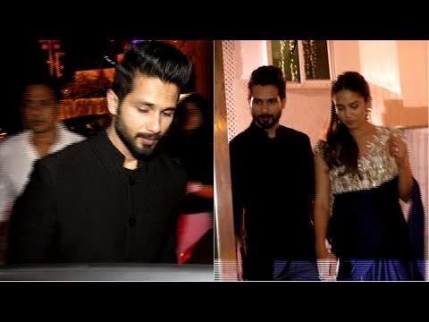 Shahid Kapoor & Mira Rajput Attends Gaurav Gupta Brother's Wedding Party