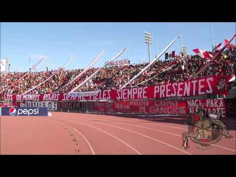LOS DEMONIOS ROJOS l CARACAS FC Vs Deportivo Tochera l TA2013 l 24-11-2013 - Los Demonios Rojos - Caracas
