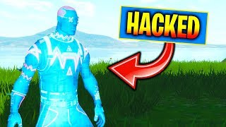 Playing Fortnite On A Hacked Account...