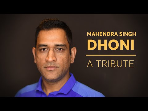 A tribute to MS Dhoni